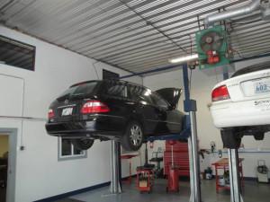 Gallery garage