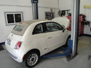 Fiat 500 service 2
